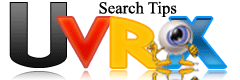 Uvrx search tips
